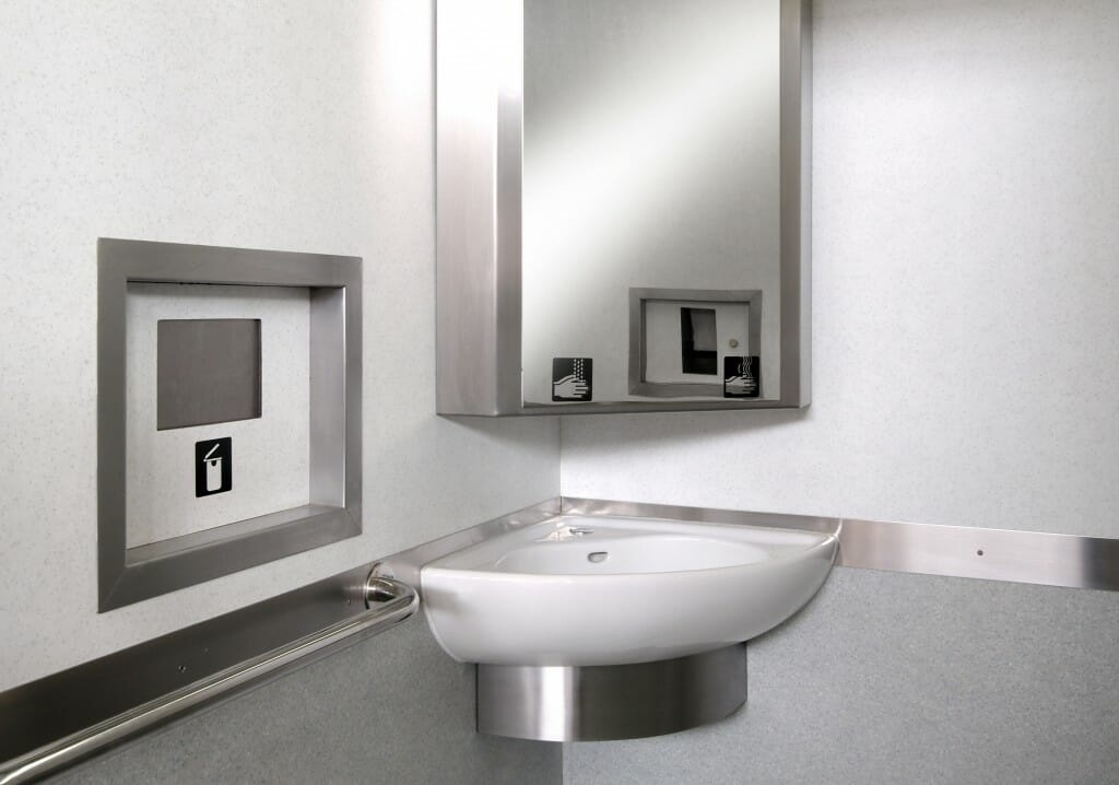 8 Bathroom Sink Designs Corner sink image
