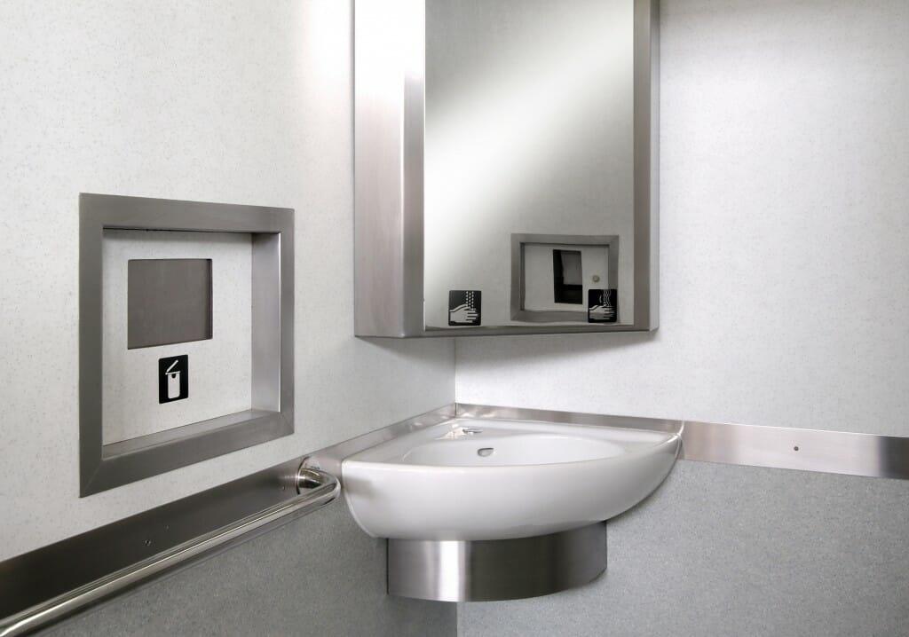 8 Bathroom Sink Designs Corner sink image