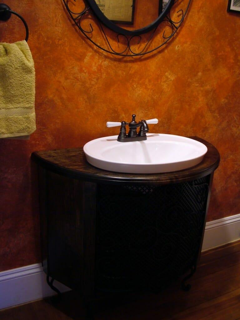 8 Bathroom Sink Designs semi recessed sink image