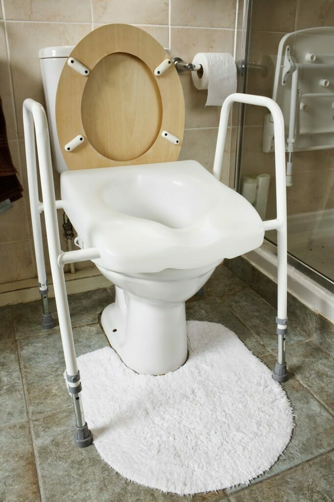 Bathroom Safety Design Tips For Elderly Access - Bathroom toilet handles