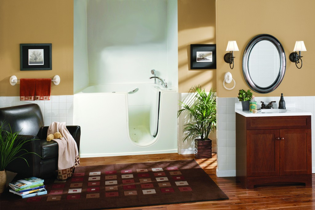 bathroom design ideas for elderly access and safety image - Bathroom Design Tips
