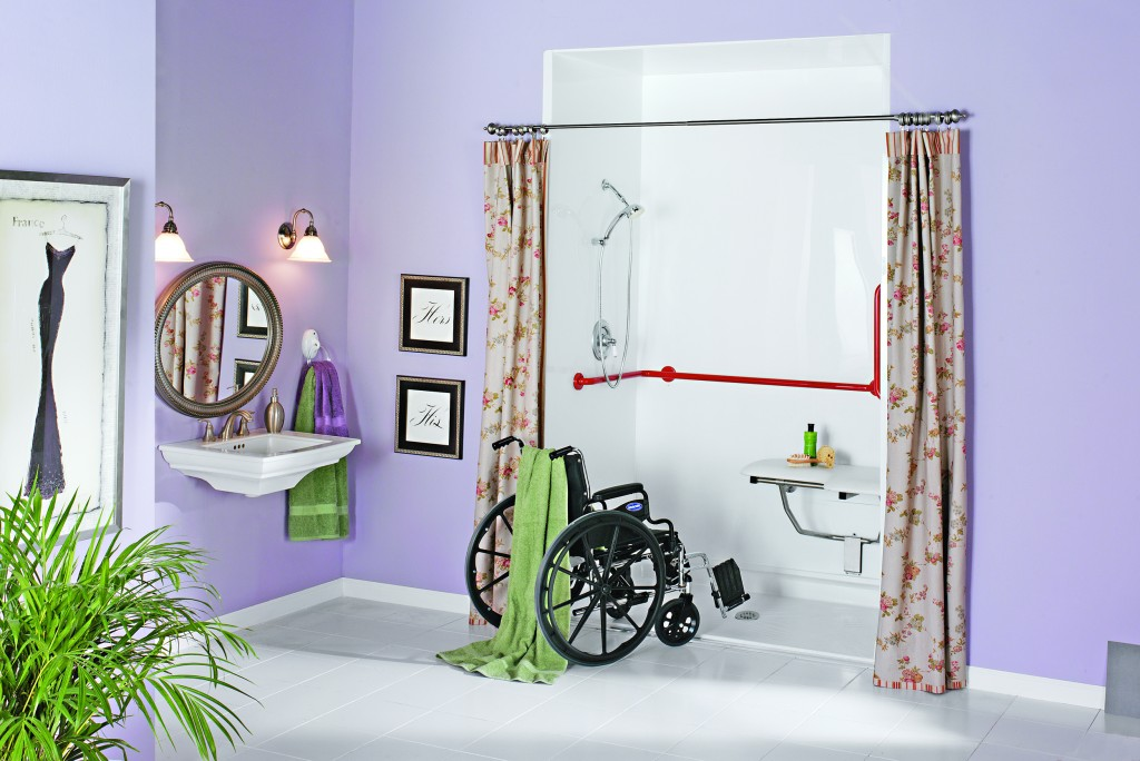 bathroom design ideas for elderly access and safety image - Bathroom Design Ideas For Elderly