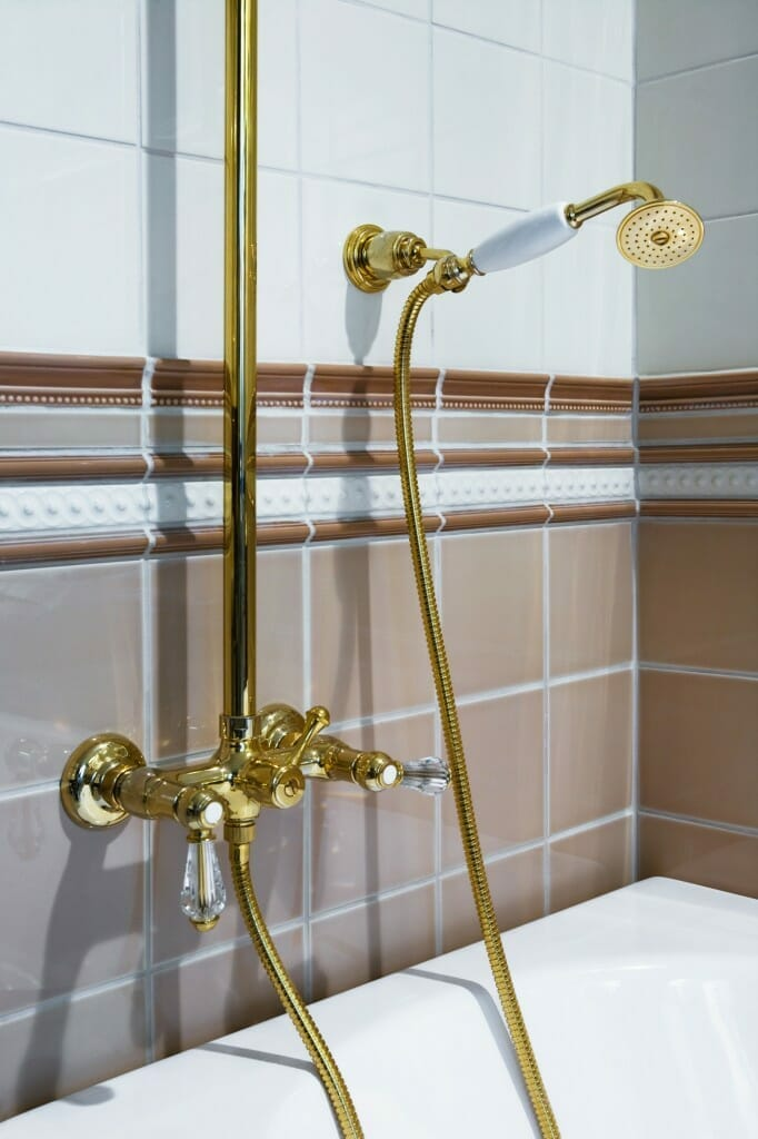 Wonderful How To Clean Gold Faucets: Maintaining And Cleaning Gold Plated Bathroom  Fixtures Image