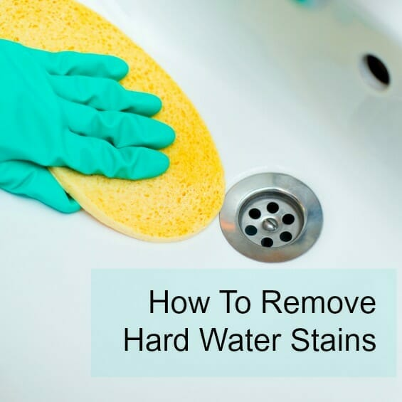 How To Remove Hard Water Stains Image