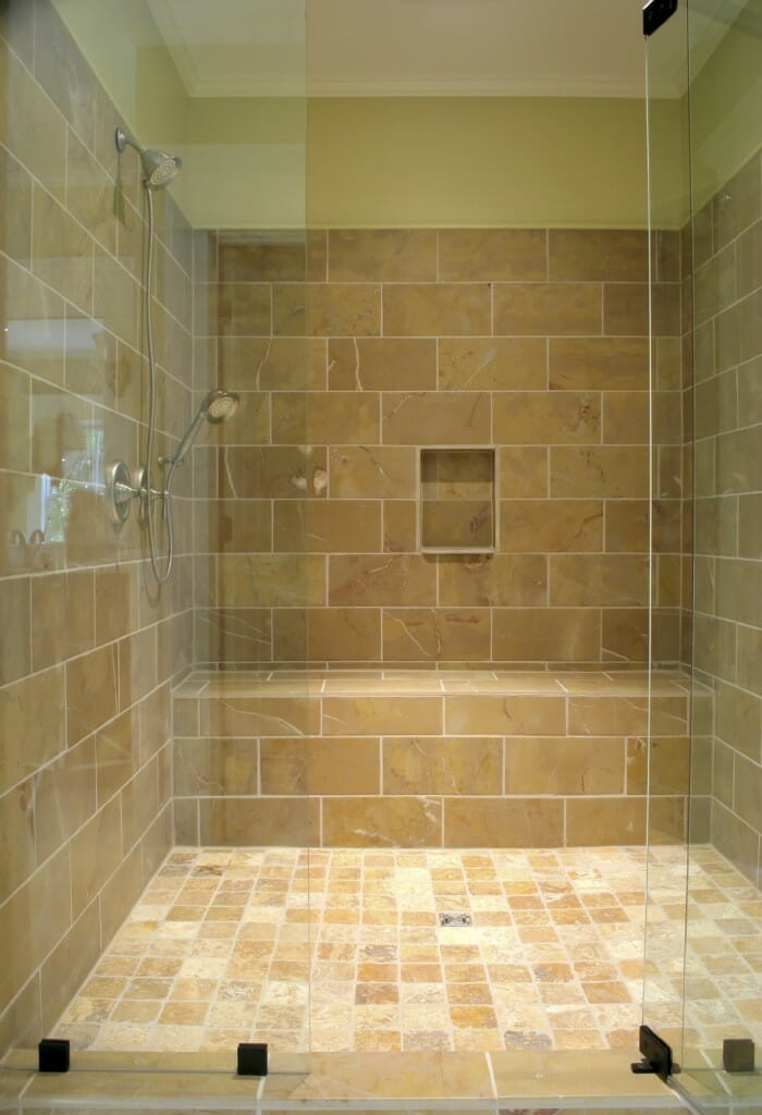 Walk in shower should you make the change for Walk through shower to tub