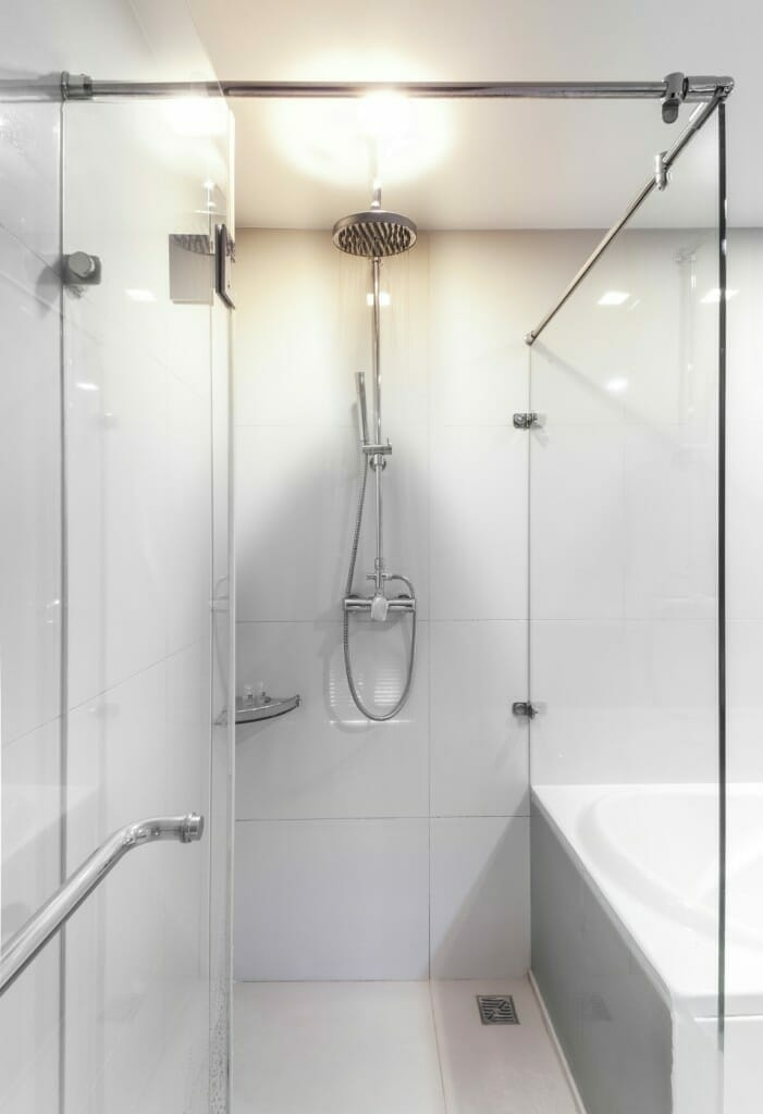 Walk In Shower: Tub To Shower Conversion Pros And Cons