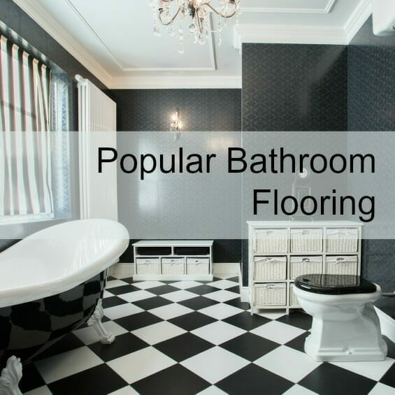 Popular Bathroom Flooring Image