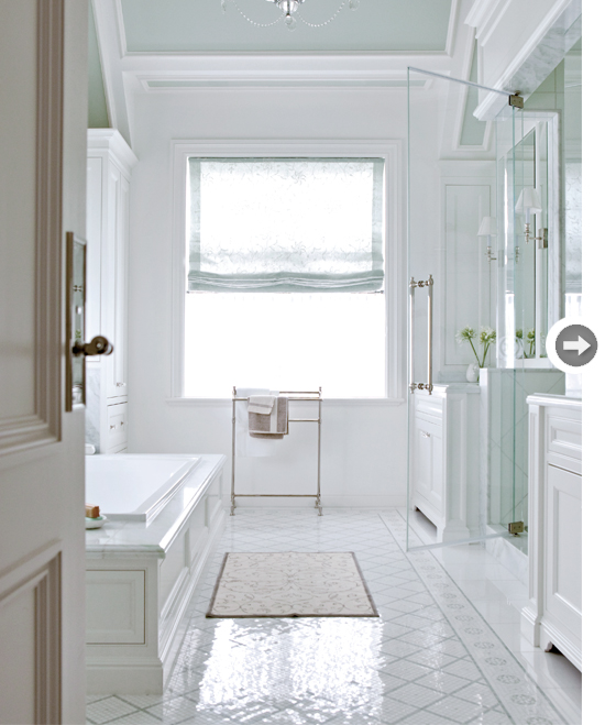 A Montreal Family 39 S Traditionally Detailed White Bathroom Is The Epitome Of Luxury And Longevity