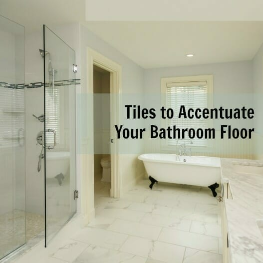 Tiles to Accentuate Your Bathroom Floor Image
