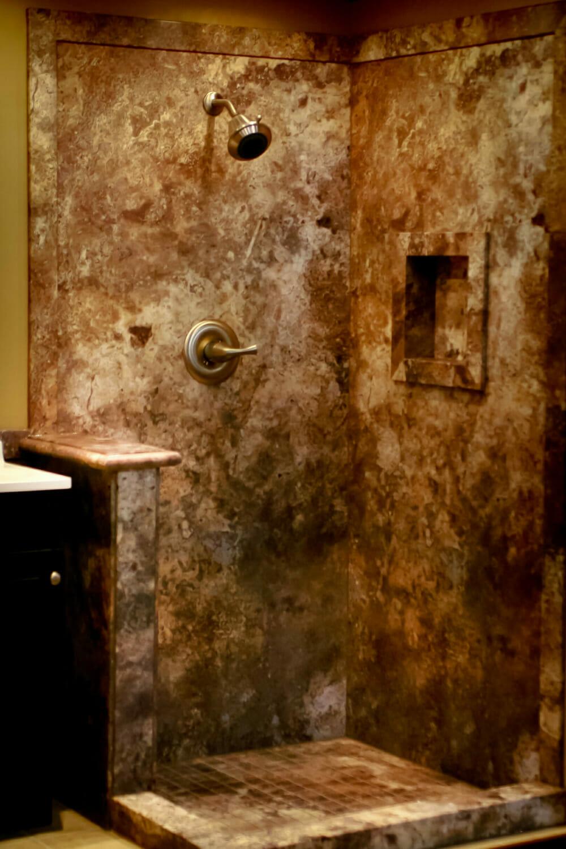 Bath Shower Surrounds Sentrel Solid Bath And Shower Surfaces