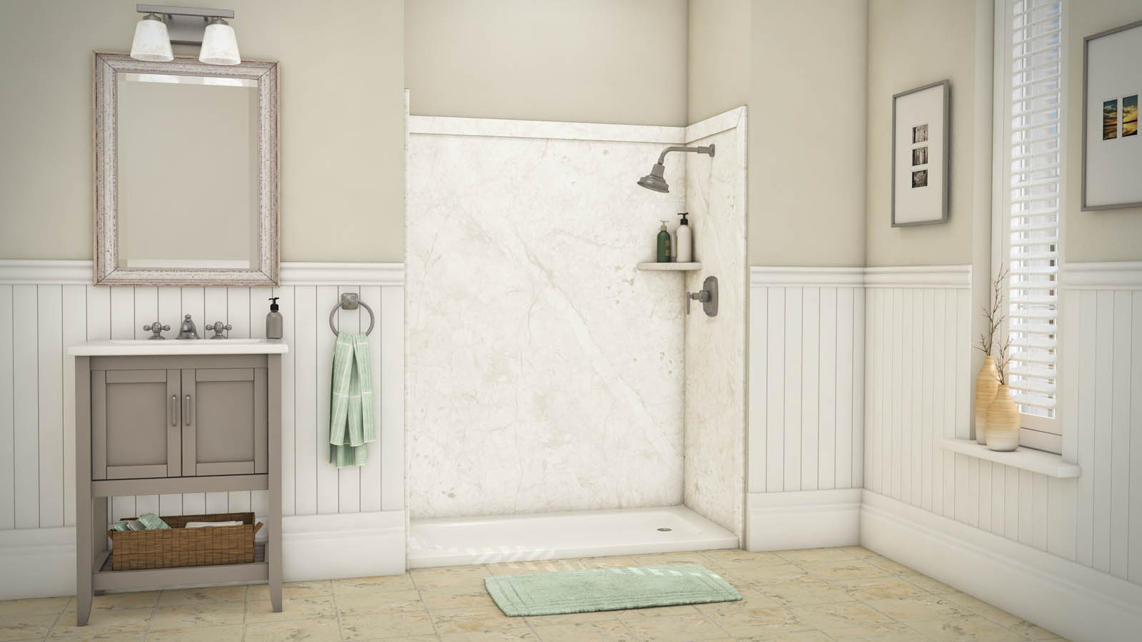 Bathroom remodel try these budget friendly options - Budget friendly bathroom remodel ...