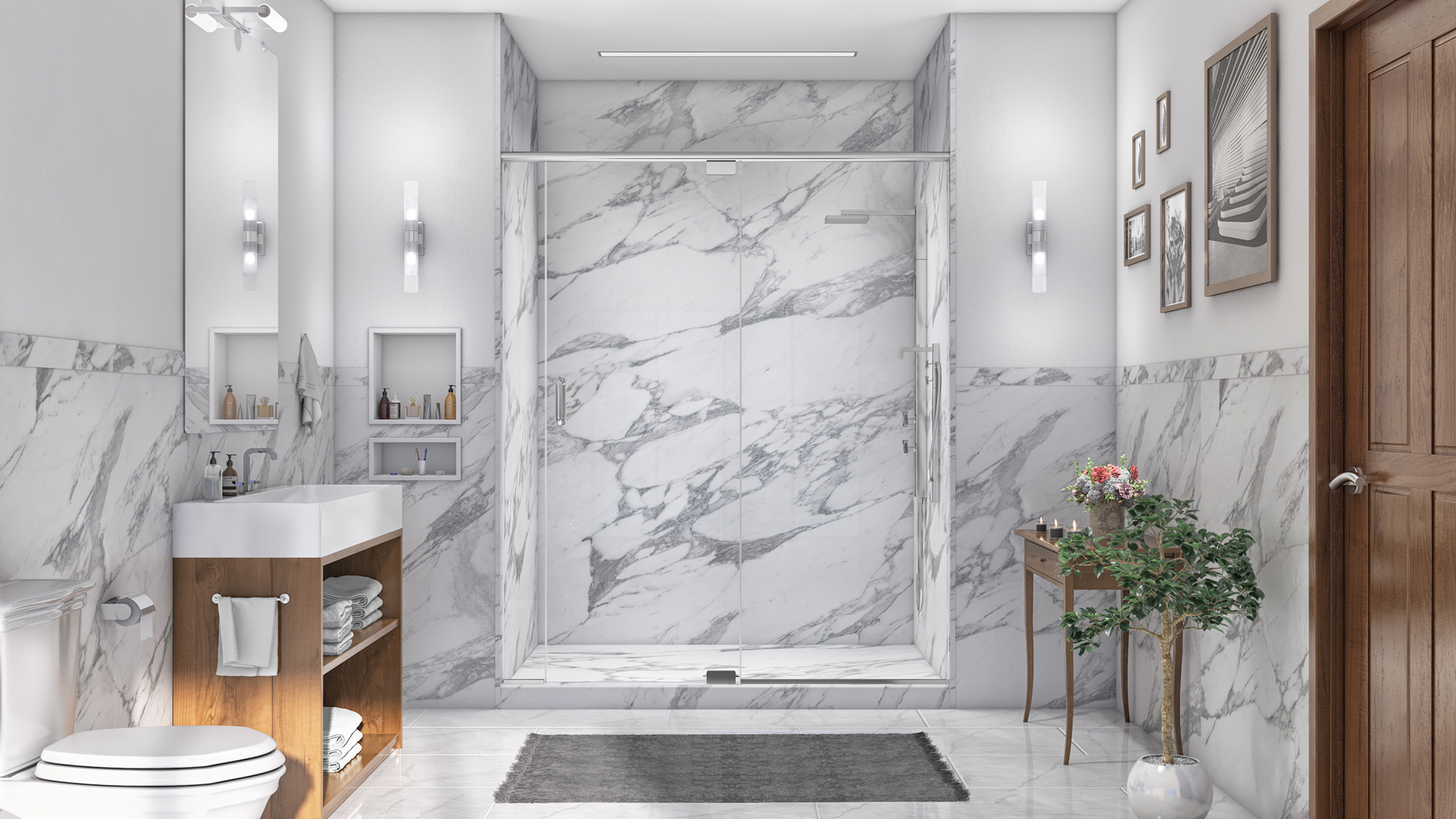 Oakville Wall Surrounds - Five Star Bath Solutions of ...